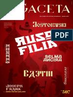 Ruso Filia - Gaceta FCE