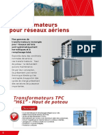 Transformateurs Tpc Pour Reseaux Aeriens