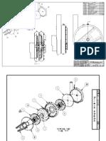 Vactor diagram of clutch pack breakdown
