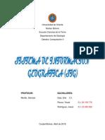 Sistemas de información greografica