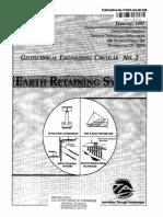 Earth retaining system