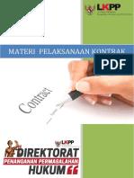 Prosiding Pelaksanaan Kontrak ( Cek Halaman Daftar Isi )