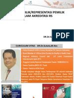 Peran Pemilik, Dewan Pengawas Dan Direktur RS DalaM SNARS