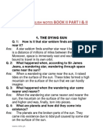 English Full Book Important Notes for 12th Class Students