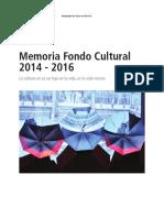 Memoria Fondo Cultural ES
