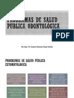 10s_Programas de Salud Publica Odontológica