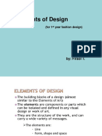Fix Element of Design in Fashion