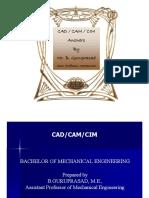 Cadcamcim by Mr. b. Guruprasad