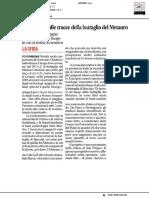 Archeologi sulle tracce della Battaglia del Metauro - Il Corriere Adriatico del 31 ottobre 2018