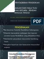 Dasar Pendidikan dan hala tuju pendidikan di malaysia