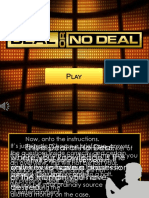 Deal or No Deal EGames