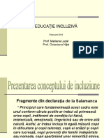I Educația  Incluziva