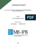 Urgensi Maintenance Software Atau Sistem Informasi Didalam Perusahaan(1)