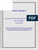 Extracts from British Standards for Students of Structural Design