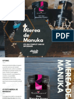 Mierea de Manuka - Cel Mai Complet Ghid de Informare - Vegis.ro
