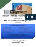 CSIHS 8th Grade Showcase