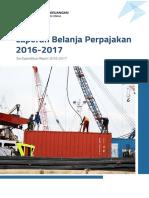 Laporan Belanja Perpajakan 2016 2017