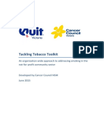 Quit Tackling Tobacco Toolkit