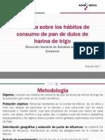 Encuesta Sobre Los Habitos de Consumo de Pan de Dulce de Harina de Trigo