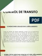 Control de Transito