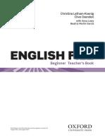 teacher's book English File