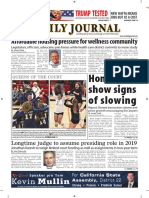 San Mateo Daily Journal 11-05-18 Edition