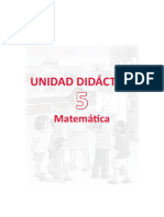Unidad Didactica Matematica 1ergrado