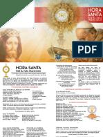 Hora Santa Por El Papa