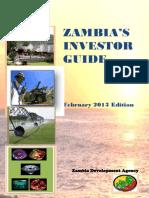 ZDA Investor Guide Handbook February 2013 1