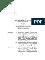 Permendagri 33-2006_Pedoman Umum Mitigasi Bencana.pdf