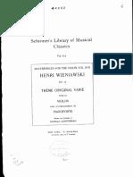 Wieniawski - Tema e variazioni - piano.pdf