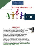 Genetica Mendeliana Caratteri Complessi