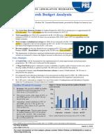AP Budget Analysis 2018-19