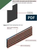 Installation Instruction for MDF panels