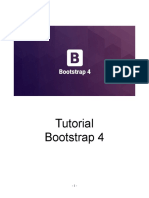 Tutorial bootstrap 4