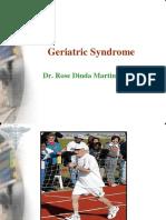 Geriatric Syndrome Workshop Tig2010