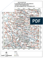 Peta Kontur Daerah Tasikmalaya