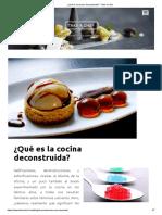 ¿Qué es la cocina deconstruida_ - Take a Chef.pdf