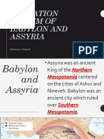 Education System of Babylon and Assyria