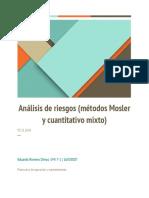 Análisis de Riesgo Método Mosler