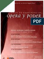 Opera y Poder Cartel