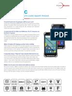 Der Point Mobile PM80HC Robuster Healthcare PDA - Carema