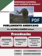 3. Arturo Olivera - El Poblamiento Americano 2017 II