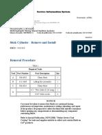 Stick Cylinder - Pala Hidraulica 6040FS