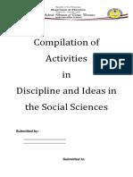 Activity Sheets DISS