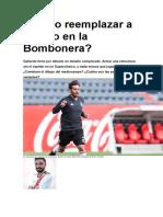Cómo Reemplazar a Ponzio en La Bombonera