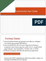 Asam Karboksilat dan Ester.ppt