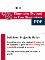 Chapter 3 - Motion in Two Dimensions