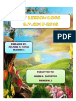 Daily Lesson Logs