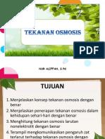 PPT Tekanan Osmosis